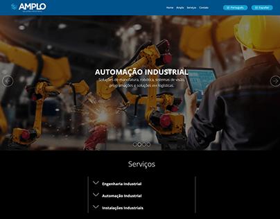 Web Design Amplo Soluções
