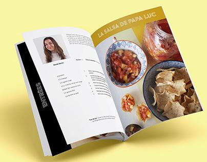 Les recettes étudiants - Design de publication