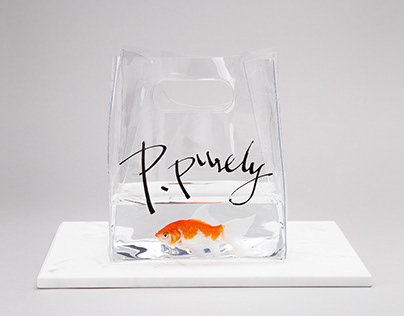 P.Purely jewelry brand/Packaging design