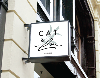 Cat&Lou Salon Brand Guidelines