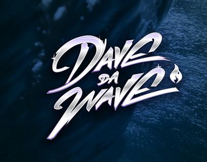 Dave da Wave Lettering Logo