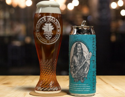 FOMOA + Ghost Harbor Brewing Collab Museum Series