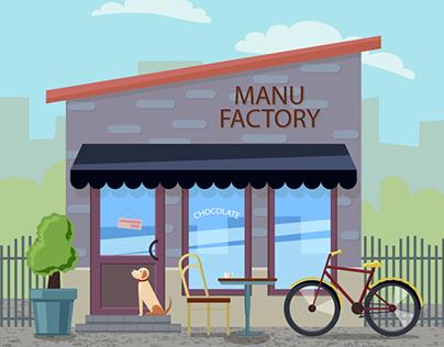 """Cafe """"MANU FACTORY"""""""