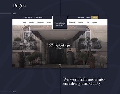 Beau Rivage - Elegant booking