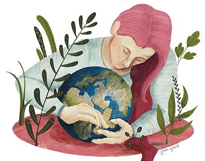 Environmental illustrations