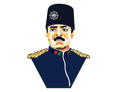 King Amanullah's Illustration_AFG 100th Independence