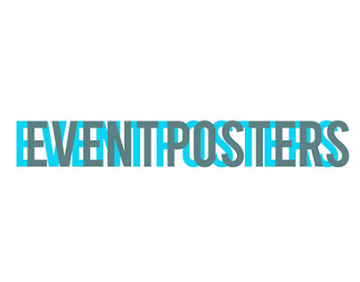 Event Posters for digital and print media