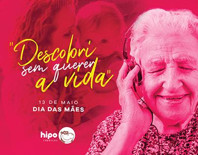 Campanha: Dia das Mães na Batida do Coração - Hipo