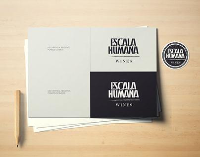 ESCALA HUMANA WINES. Branding, Stationery, Packaging.