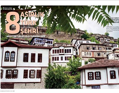 An 8 Centuries-Old Turkish City @Anadolujet Magazine