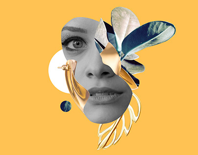 Collage. Concept for SOVA jewelry