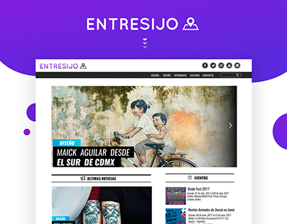 Website Entresijo proyect