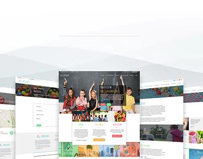 Dünya çocuk üniversitesi.web tasarım.2018