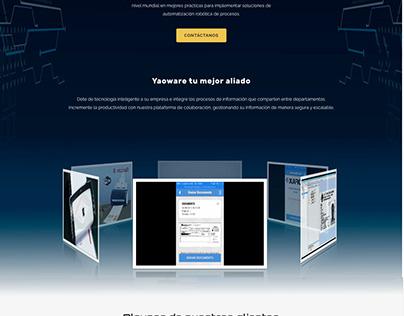 Página Web Yaoware