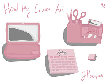 Hold My Crown Podcast Art