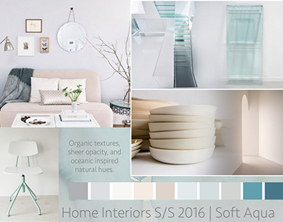 Soft Aqua Home Interiors