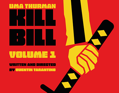 Kill Bill Poster Design