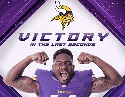 NFL Social Media Artwork - Minnesota Vikings