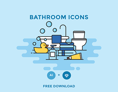 FREE - BATHROOM ICONS