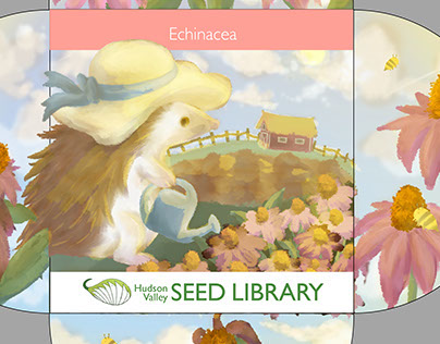 Hudson valley seed library packet Project