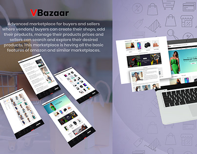 VBazaar :An Advanced marketplace for buyers and sellers