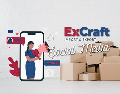 ExCraft | Social Media