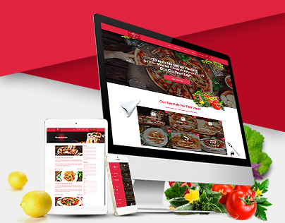 Fusion Cuisine Website