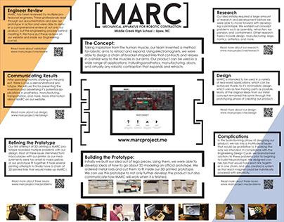 MARC Tri-Fold (2nd Place, SkillsUSA Engineering 2016)