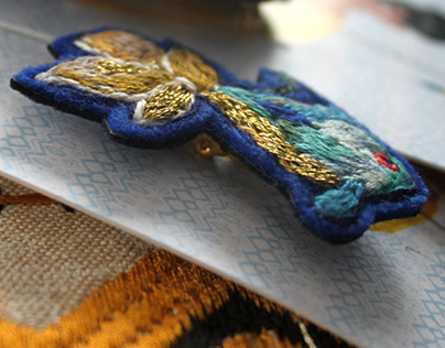 Broches {Les p'tits poissons}