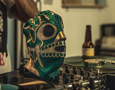 El Huesos DJ at Collective Records