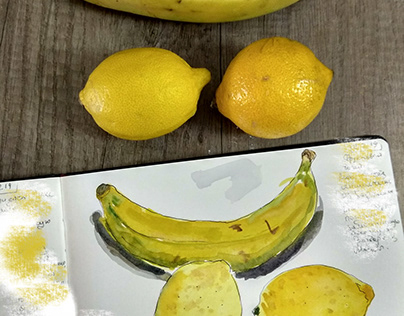 Lemons, Banana