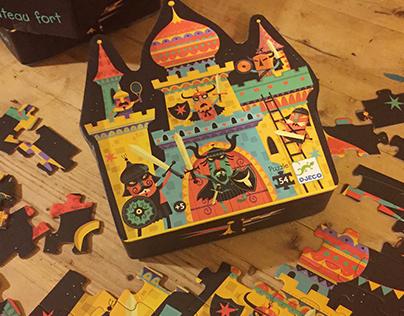 Djeco - puzzle