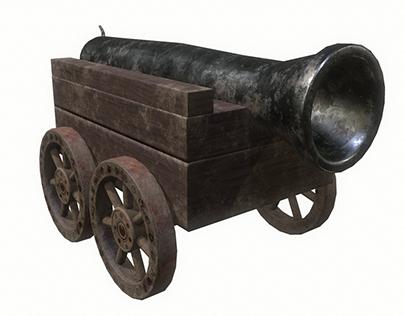 Cannon car level 1 3D
