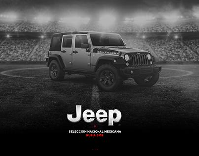 Jeep México / Rusia 2018