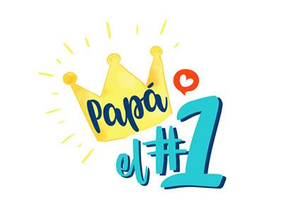 Campaña l Papá eres el #1