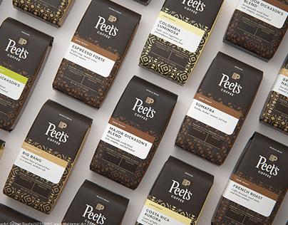 Peet's Coffee 3D visualization