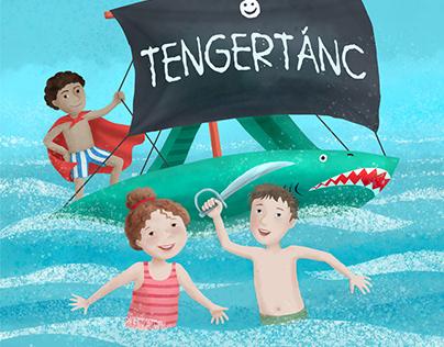 """Sea dance"" children's book illustration"