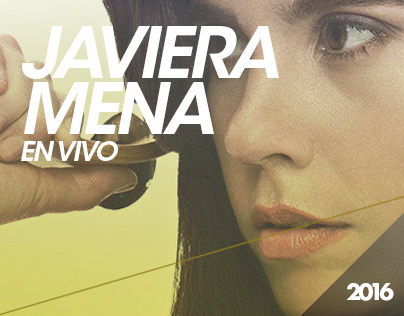 Javiera Mena en Vivo / Bunker Espectáculos