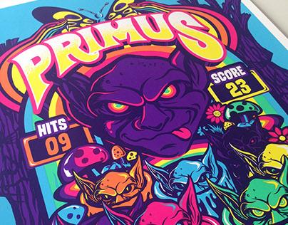 Primus Poster - September 23, 2018 Tulsa, OK