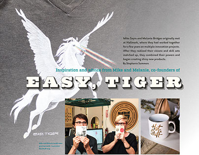 Design Speak Vol.7 Interview with Easy, Tiger