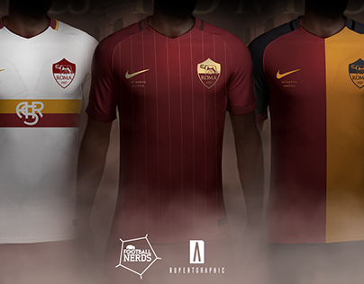 AS Roma   Anniversary Concept   Nike