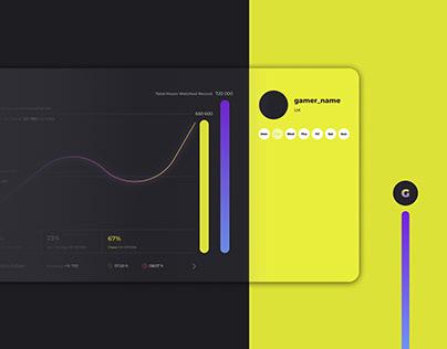 Stats chart (UI/UX)