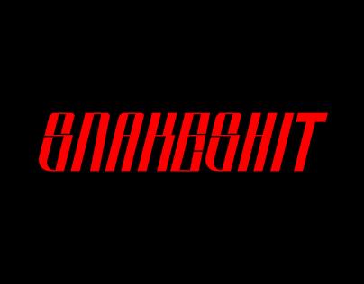 Snakeshit - Free Font