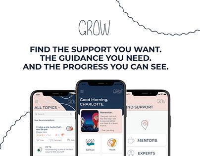 GROW. Support. Guidance. Progress.