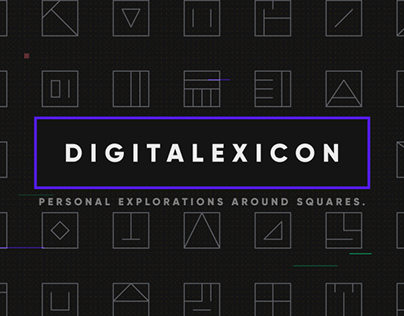 Digitalexicon - Personal experiment.