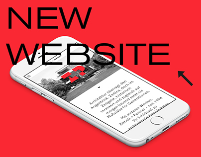 Z+P Architects website