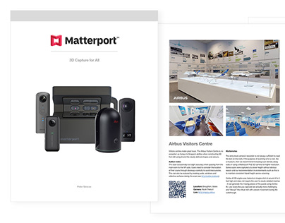 Matterport Book Research and Design