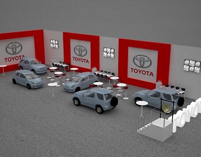Diseño de Stand Toyota