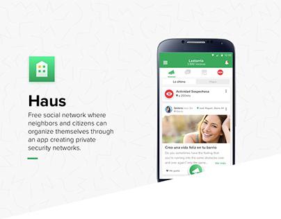 Haus App - Neighbors social network