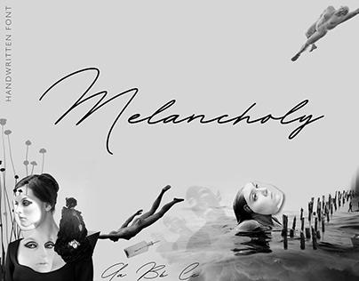 Melancholy Font